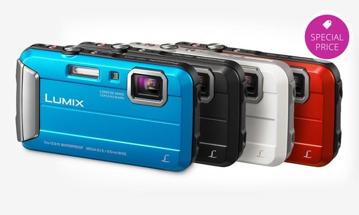 Panasonic Lumix 16.1 MPRuggedWaterproofDigital Camera (DMC-TS25) : Panasonic Lumix 16.1 MPRuggedDigital Camera with 8x Intelligent Zoom (DMC-TS25). Multiple Colors.