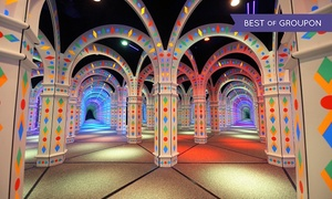 Amazing Mirror Maze: Mirror-Maze Adventure for Two, Four, or Six, or Party Package for 12 at Amazing Mirror Maze (Up to 44% Off)