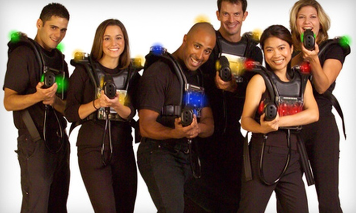Long Island Laser Bounce - Levittown: $15 for a Laser-Tag Outing at Long Island Laser Bounce in Levittown ($30.50 Value)