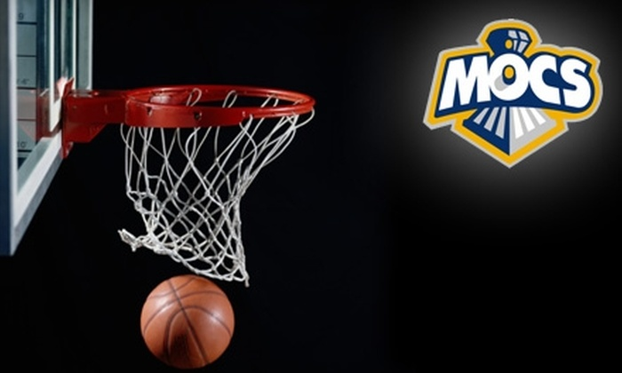 Chattanooga Mocs - Chattanooga: Tickets to Mocs or Lady Mocs UT Chattanooga Basketball. Choose Between Two Games. (Up to $15 Value)