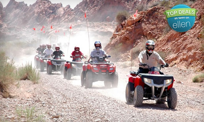 Adrenaline ATV Tours - North Las Vegas: $85 for a Valley of Fire ATV Adventure from Adrenaline ATV Tours in North Las Vegas ($170 Value)