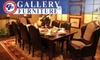 Gallery Furniture - Multiple Locations: $50 for $200 Worth of Furniture at Gallery Furniture