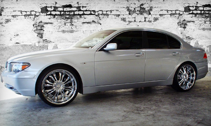 Mr. Tint - Multiple Locations: $140 for a Five-Window Tint at Mr. Tint (Up to $280 Value)