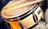 RimShot Drum Studios - Umstead: $50 for Four Private, 30-Minute Drum Lessons at RimShot Drum Studios ($100 Value)