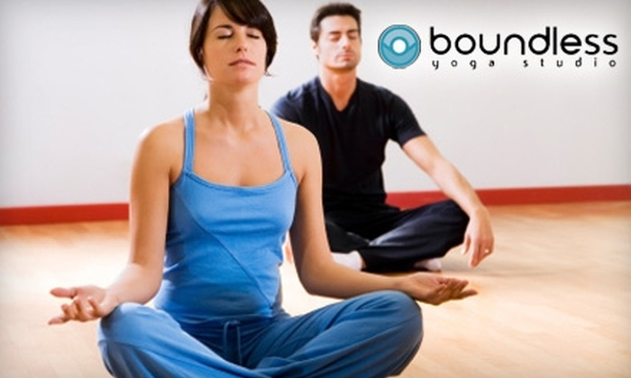 Boundless Yoga - U Street - Cardozo: $35 for Four Drop-in Classes at Boundless Yoga ($70 Value)