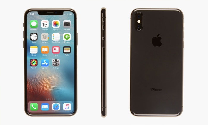 Up To 46% Off on Apple iPhone X Smartphone | Groupon Goods