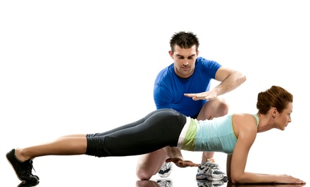 Fitness Packages with 3, 8, or 12 Personal-Training Sessions at Personal Training Institute (Up to 62% Off)