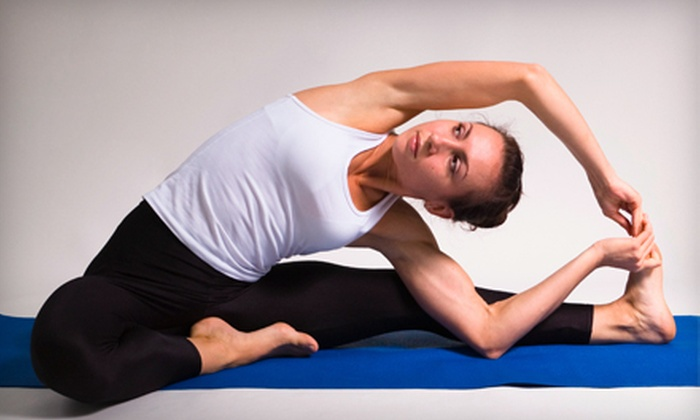 The Dharma Room - Sioux Falls: $25 for Four Yoga Classes at The Dharma Room ($60 Value)