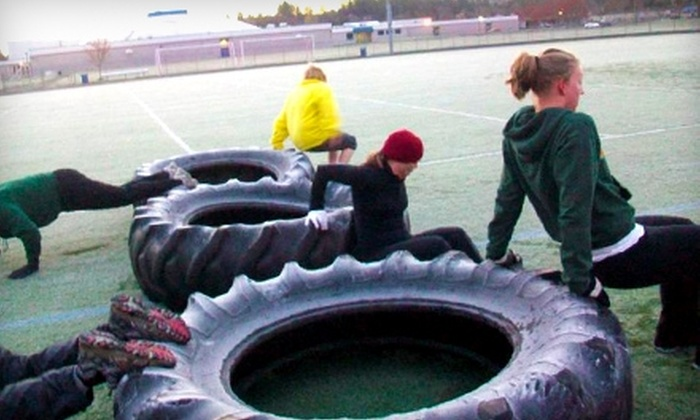 Eugene Bootcamp - Eugene: $25 for One Month of Boot-Camp Classes Plus 10-Day Meal Plan at Eugene Bootcamp ($99 Value)