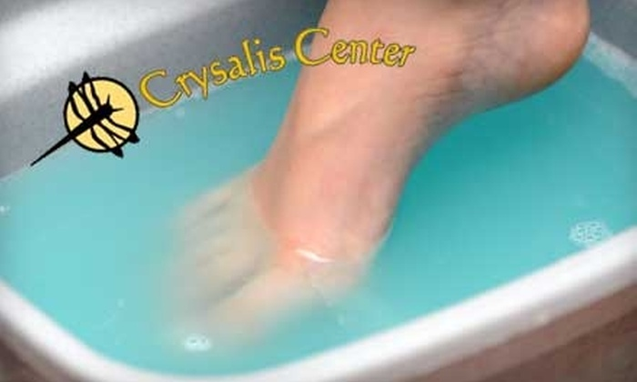 Crysalis Center - Central Business District: $17 for an Ionic Foot Detox at Crysalis Center ($35 Value)