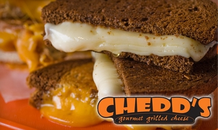 Chedd's Gourmet Grilled Cheese - Austin: $6 for $12 Worth of Fare at Chedd's Gourmet Grilled Cheese