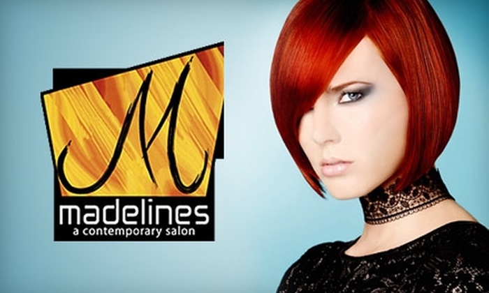 Madeline's A Contemporary Salon - Spring Valley: $65 for a Hair Color, Cut, and Style at Madeline's A Contemporary Salon ($165 Value)