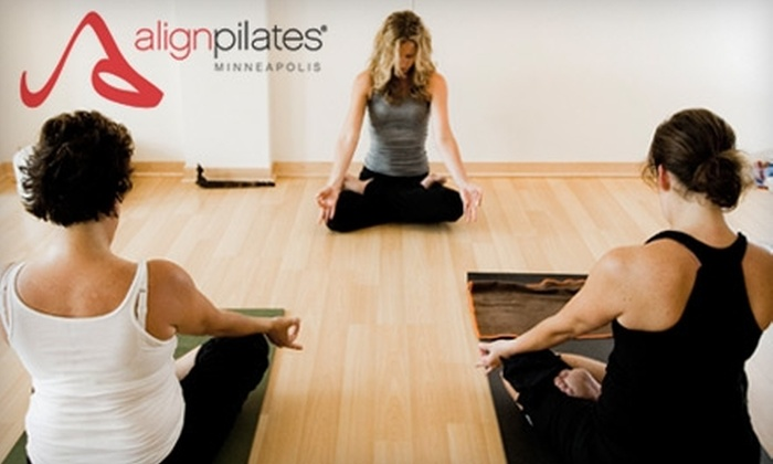 Align Pilates - Uptown: $45 for Six Pilates Mat and Yoga Classes at Align Pilates