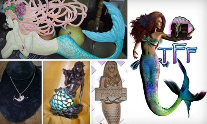 The Mermaid Store: Treasures, Feathers & Fins - East Ocean View: $25 for $50 Worth of Merchandise from The Mermaid Store: Treasures, Feathers & Fins