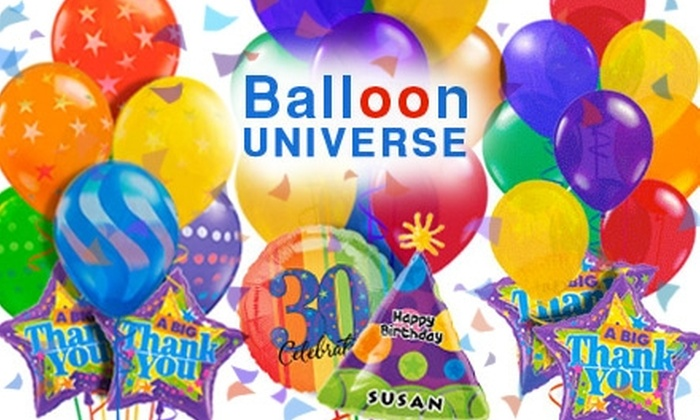 25 For A Balloon Bouquet With Delivery From Universe 50