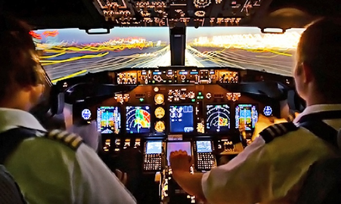 Flight Adventures - Sea Island: $69 for a 30-Minute Flight-Simulator Experience Modeled After Boeing 737 Next Generation at Flight Adventures ($139 Value)