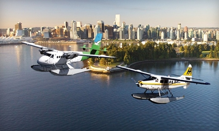 Harbour Air - Multiple Locations: $50 for $100 Toward Flight, Merchandise, or Tour from Harbour Air