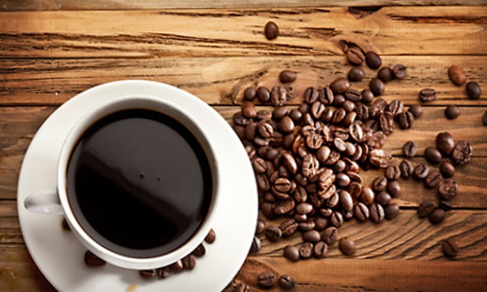 Kaukauna Coffee and Tea - Fox Cities: $10 for Five 16-Ounce Coffees or Teas at Kaukauna Coffee and Tea