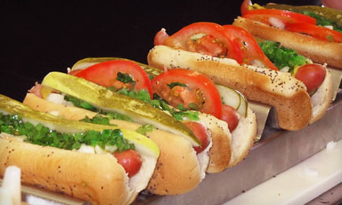 Windy City Beefs 'N Dogs - Multiple Locations: $7 for $15 Worth of Hot Dogs and Authentic Chicago Fare at Windy City Beefs 'N Dogs