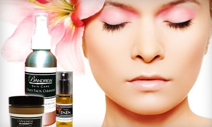 B. Andrew Skin Care: $50 for an Organic Facial-Care Package from B. Andrew Skin Care ($128 Value)