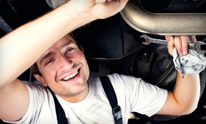 Fountain Tire - Renfrew-Collingwood: $26 for Auto Maintenance Package, Including Oil Change, Tire Rotation, and Brake Inspection at Fountain Tire ($73.86 Value)