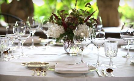 Dinner for Two - Huddleson Court & Green Gables Restaurant in Jennerstown
