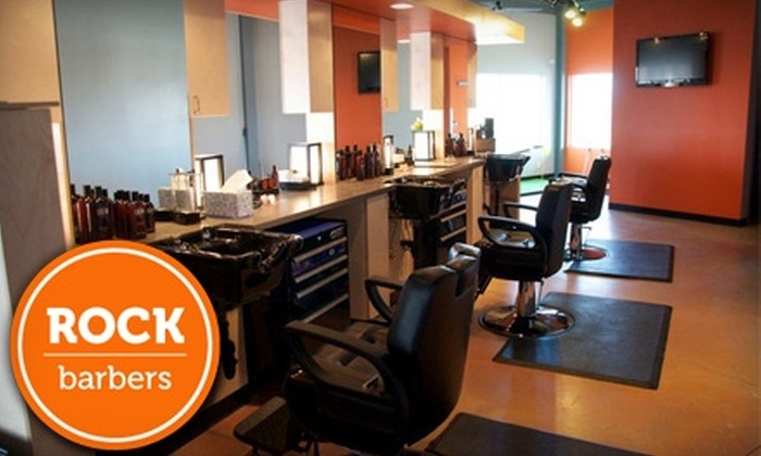 Rock Barbers - Louisville: $12 for a Men's Shampoo, Haircut, Neck Shave, and Final Style at Rock Barbers ($29 Value)