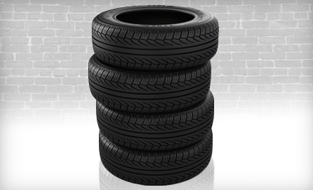4 Winter or All-Season Tires Installed and Balanced (a $160 value) - North Coast Repair Company in Cleveland