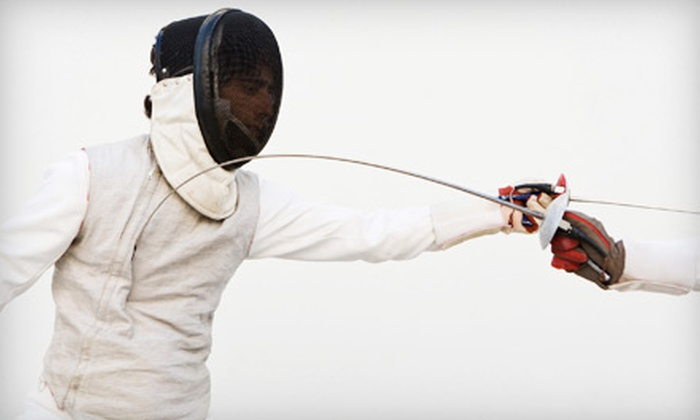 Rochester Fencing Club - Culver-Winton-Main: One Introductory Fencing Lesson or Four Learn to Fence Classes at Rochester Fencing Club