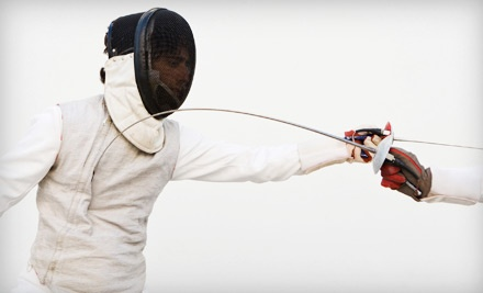 An Introductory Fencing Lesson (a $50 value) - Rochester Fencing Club in Rochester