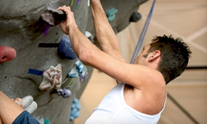 Climb at Blue Ridge - Taylors: $8 for an All-Day Indoor Rock-Climbing Pass and Gear Rental at Climb at Blue Ridge ($17 Value)