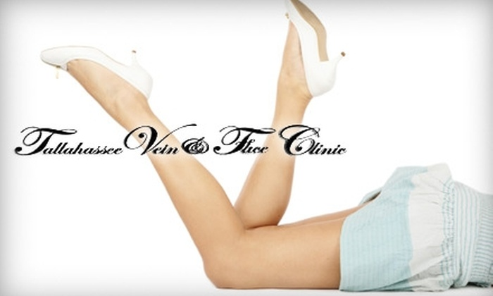 Tallahassee Vein & Face Clinic - Tallahassee: $75 for One Sclerotherapy Treatment ($150 Value) or $100 for Four Syringes of Lipotherapy Treatment ($200 Value) at Tallahassee Vein & Face Clinic
