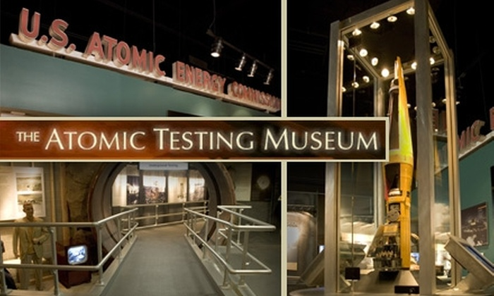 Atomic Testing Museum - Paradise: $6 Adult Ticket to The Atomic Testing Museum ($12 Value)