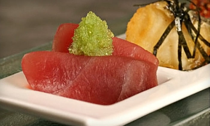 Kru Contemporary Japanese Cuisine - Sacramento: $20 for $40 Worth of Japanese Dinner Fare at Kru Contemporary Japanese Cuisine (or $10 for $20 Worth of Lunch)