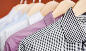 Dry Clean Super Store: Dry Cleaning or Wedding-Gown Preservation from Dry Clean Super Store (Up to 60% Off). Three Options Available.