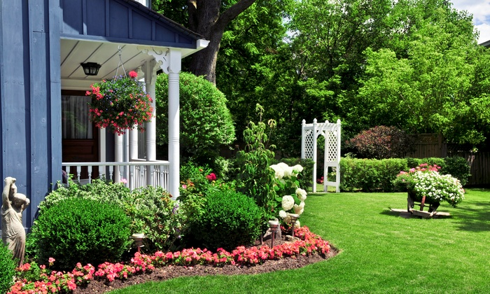 Lawn Doctor - Hartford: $29 for Lawn Fertilization and Weed Treatment from Lawn Doctor ($61 Value)