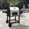 Dyna-Glo Large Charcoal Grill 486 in Stainless Steel or Black