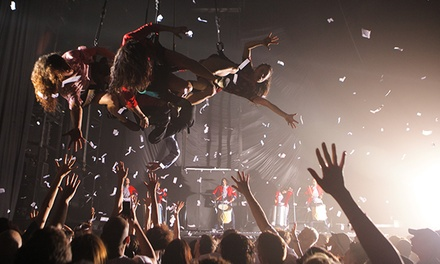 Wayra: Fuerza Bruta at Daryl Roth Theatre on September 1–January 4 (Up to 60% Off).