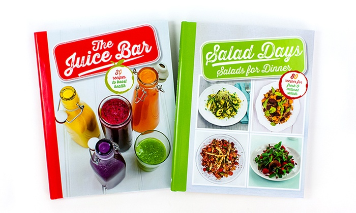 Healthy Eating Cookbook Set (2-Piece)