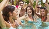 Sapphire Pool & Day Club - Las Vegas: Pool Day for Two, Four, or Six or Daybed, Cabana, or Bungalow Rental at Sapphire Pool & Day Club (Up to 75% Off)