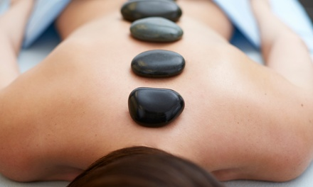 Sea-Salt Scrub, Hot-Stone Massage & Reflexology at Indulgence Day Spa Salon (Up to 54% Off)