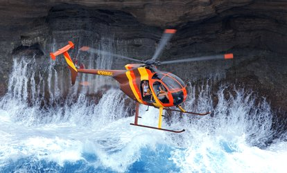 image for 50-Minute Doors Off Adventure Tour for One or Two at Magnum <strong>Helicopters</strong> (Up to 20% Off)