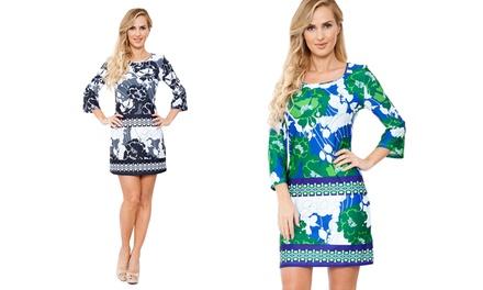 Lydia 3/4 Sleeve Dress