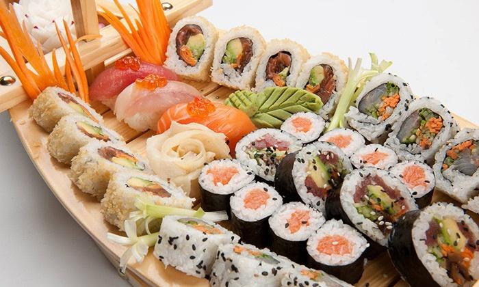 ספיישל סושי אור יהודה ארוחה זוגית ב-79 ₪, או מגש מסיבה עם 80 יחידות סושי ב-129 ₪ בלבד! עד חצות, תקף גם במוצ