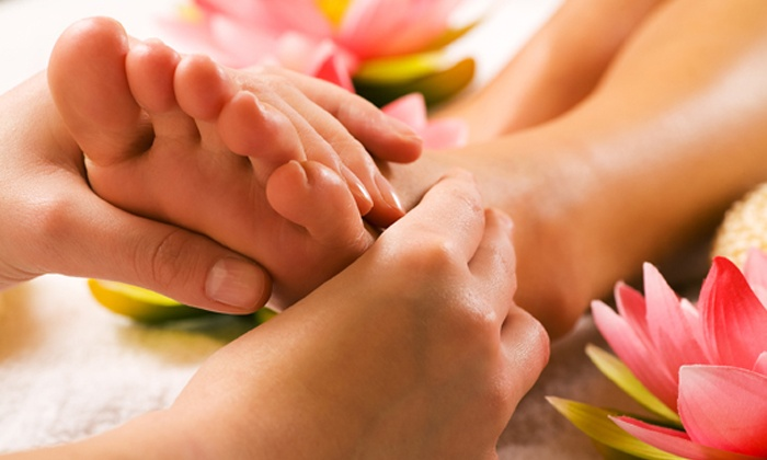 Kneaded Relief - Downtown: Swedish Massage with Optional Reflexology at Kneaded Relief (Up to 55% Off). Four Options Available.