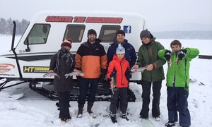 Charter The Berkshires: Catch-and-Release or Fillet-and-Freeze Ice-Fishing for Two from Charter The Berkshires (Up to 75% Off)