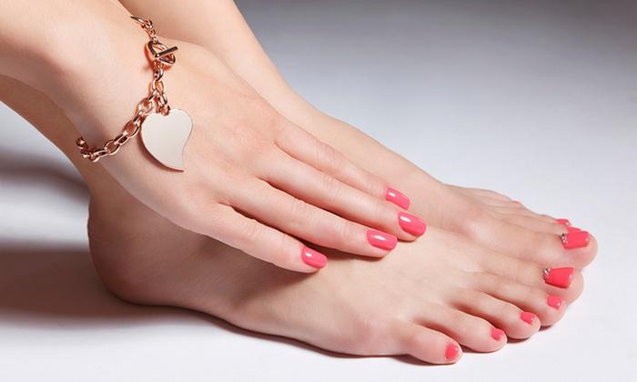 Lotus Nails - Lotus Nails: Mani-Pedi or Gel Manicure with Pedicure at Lotus Nails (Up to 31% Off)