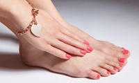 Gelish Manicure and Pedicure with Optional Beauty Treatments at George Beauty Salon (Up to 72% Off)