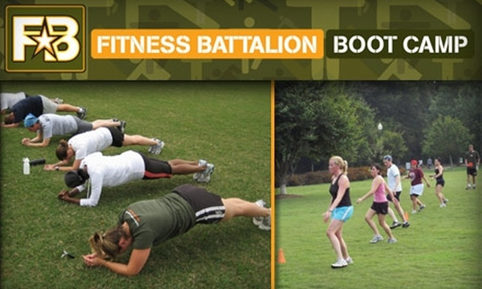 Fitness Battalion - Midtown: $35 for One Month of Unlimited Boot Camp at Fitness Battalion ($125 Value)