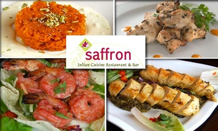 Saffron - Charlotte: $15 for $35 Worth of Flavorful Indian Cuisine at Saffron